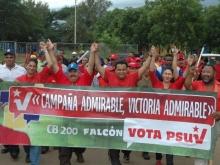 Con Alegría y Entusiasmo se presenció en los habitantes del Municipio Sucre