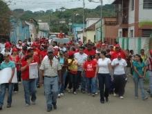 Caminata en el Municipio Unión