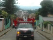 Excelente Caravana en el Municipio Federación