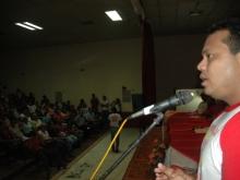 Intervención del Candidato Andrés Eloy Méndez