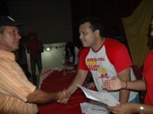 Masiva asistencia al acto de entrega de Certificados a los Consejos Comunales del Municipio Democracia
