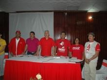 En compañia del candidato Jesus Montilla