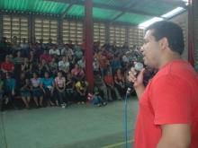 Andrés Eloy en la recta final de la fase de despliegue de cara con el pueblo del Sector Educación