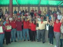 El Municipio Buchivacoa en pleno apoyando al candidato.