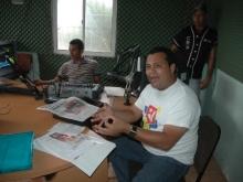 Programa de Redio en Churuguara Esterio Mcpio. Federación.