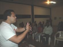 Asamblea con Dirigentes de la Parroquia Maparari del Mcpio. Federación.