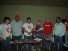 Entrega por parte del Alcalde Argenis Arcaya, y Diputado Andrés Eloy Méndez, casa de la Cultura en la Parroquia Maparari al Consejo Comunal de la Localidad.