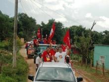 Excelente Caravana en la Paroquia la Peña del Mcpio. Bolivar