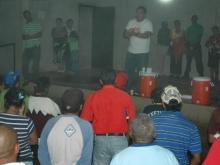 Asamblea con Dirigentes de la Parroquia La Peña del Mcpio. Bolivar