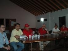 Chequeo de las UBB y Jefes de Patrullas del Municipio Sucre