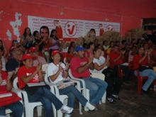 Municipio Unión atentos los presentes